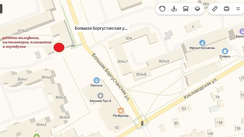Карта расположения нашего сервиса и фотографии входа, чтобы вы не потерялись#сервис #comandante_ess